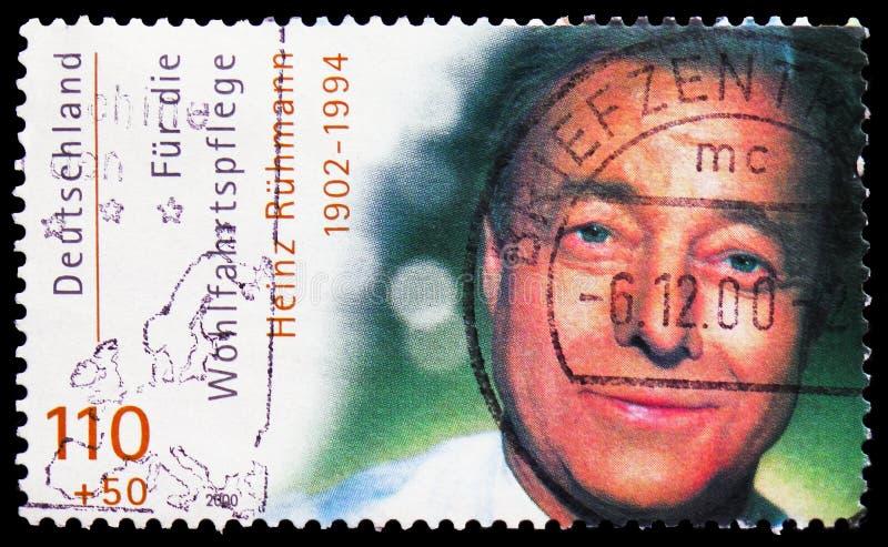 Heinz RÃ ¼ hmann, Welzijn: Internationale Filmactoren serie, circa 2000 stock foto