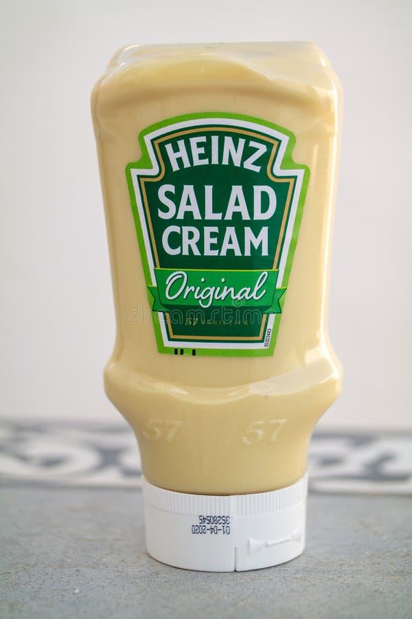 Heinz Salad Cream fotografia stock