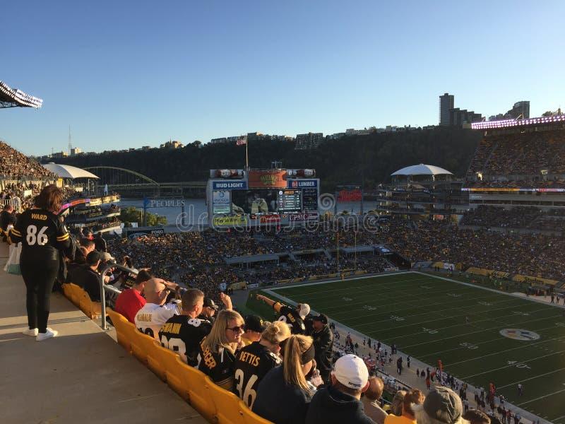 Heinz sistema lo stadio di Pittsburgh fotografia stock libera da diritti