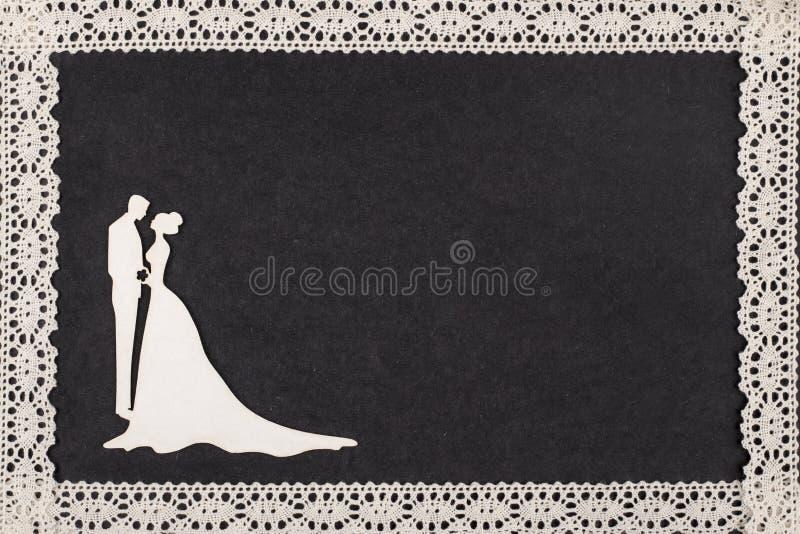 Heirat Retro- lizenzfreie stockbilder