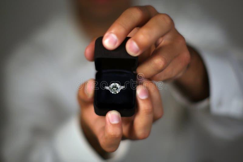 Heiraten Sie mich? lizenzfreies stockfoto