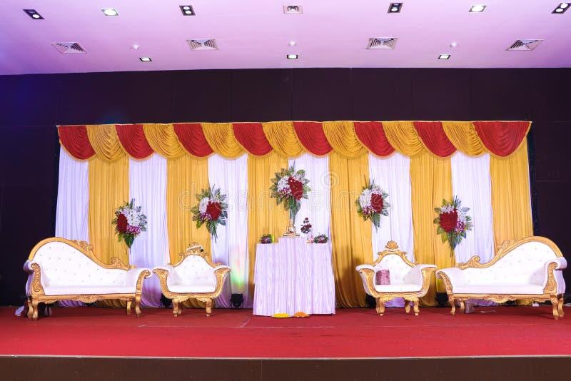 Heiratsstadium von Blumen entwerfen lizenzfreie stockfotografie