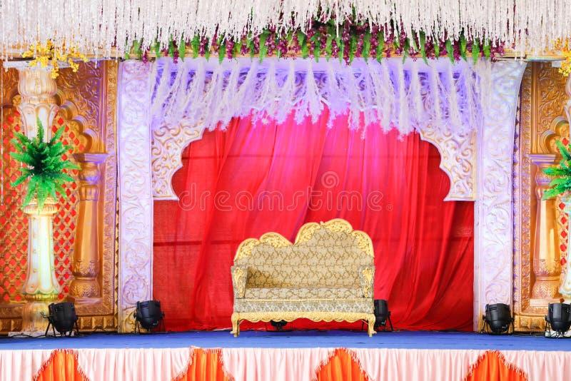 Heiratsstadium von Blumen entwerfen stockfotografie