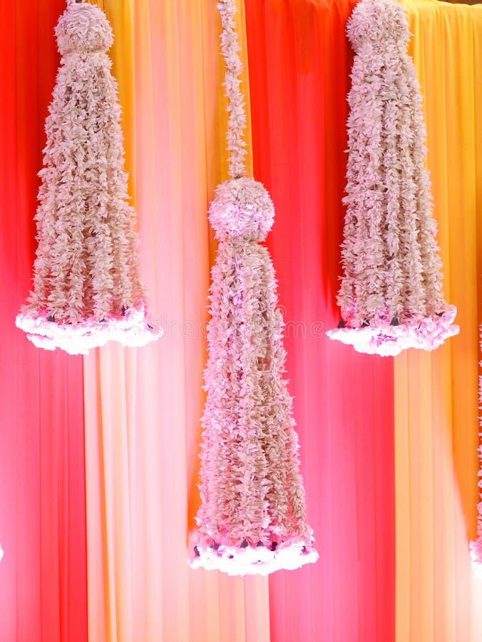 Heiratsstadium von Blumen entwerfen stockfoto