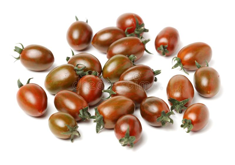 Heirloom cherry tomatoes stock photography