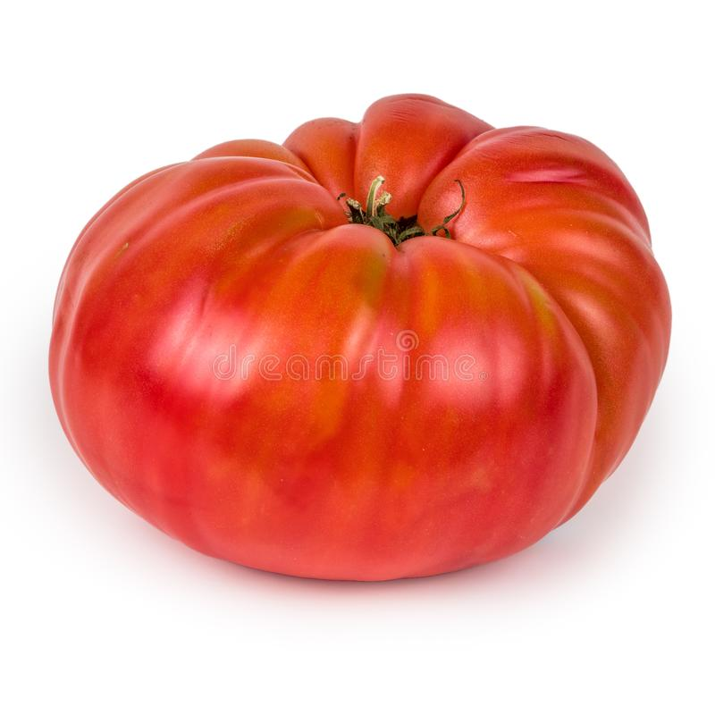 Free Heirloom Tomato Isolated On White Background Stock Photos - 101883313