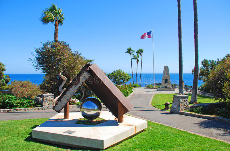 Heisler estaciona o ponto do monumento, Laguna Beach, Califo fotos de stock