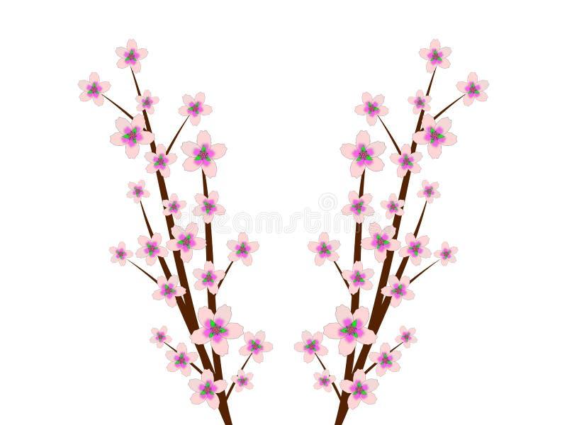 Heitre Blüten stock abbildung