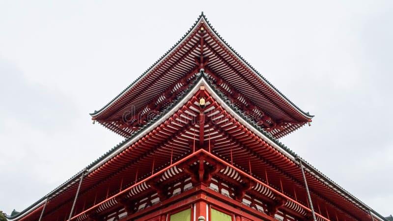 Heiwa-daitou au temple de Naritasan Shinshoji images libres de droits