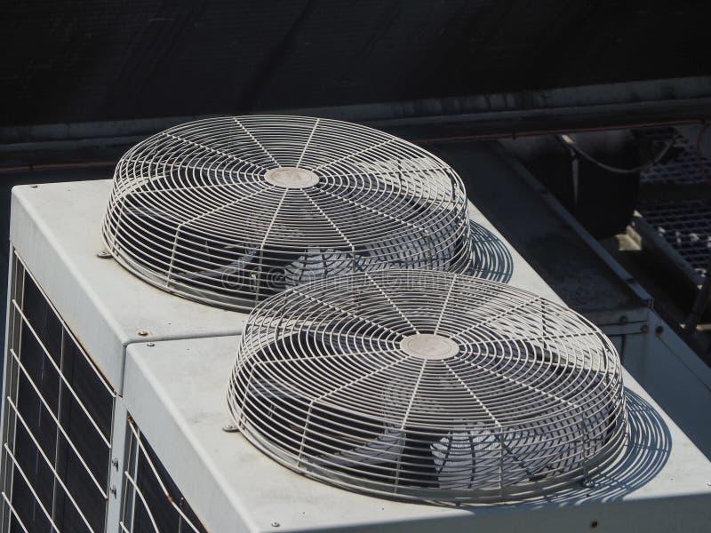 Heizungsbelüftung und Klimaanlagengerät stockfoto