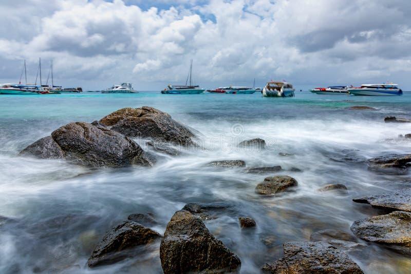 Hej wyspa urok morze obraz stock
