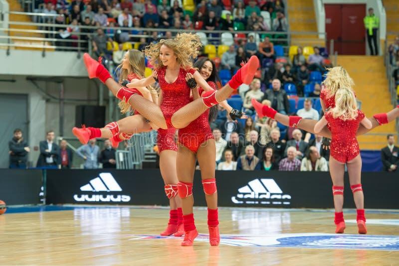 Hejaklacksledare av CSKA-laget arkivfoto