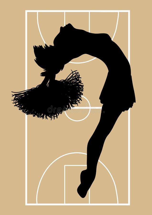 hejaklacksledare för 4 basket vektor illustrationer