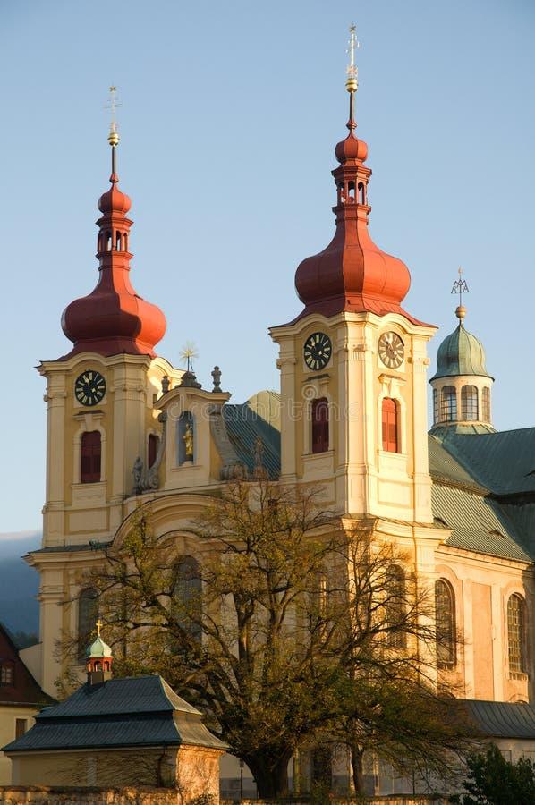 Hejnice, République Tchèque images stock