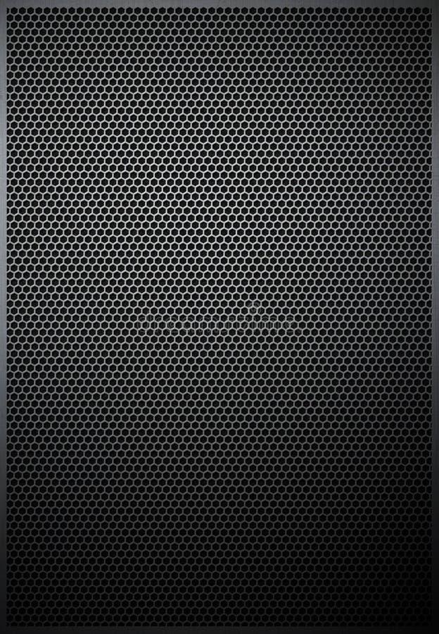 heksagonalna siatki metalu wzoru tekstura obrazy royalty free