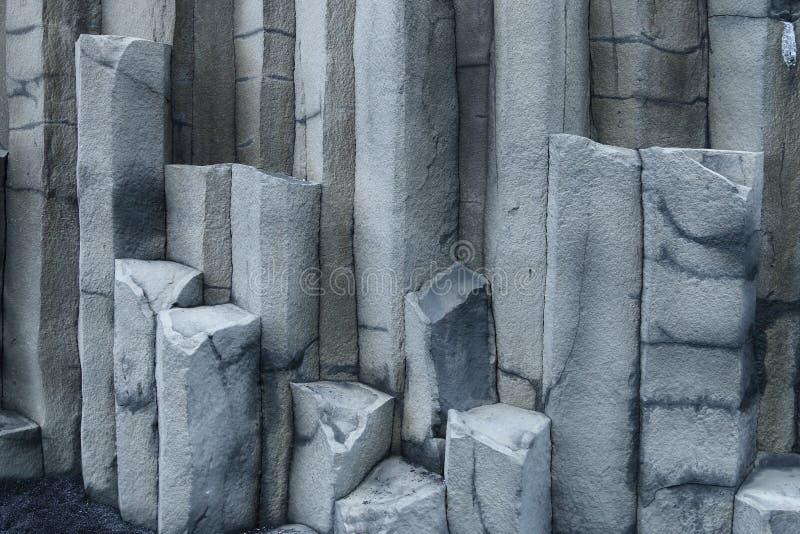 Heksagonalne kolumny, Iceland obrazy royalty free