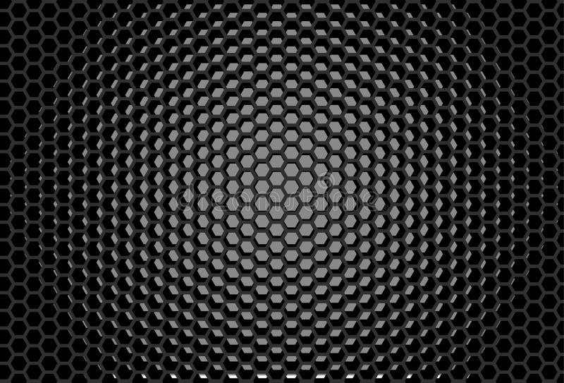 Heksagonalny siatka projekt najlepszy komputer wytwarzający honeycomb wzoru repicate bezszwowy cyfrowy tło ilustracja wektor