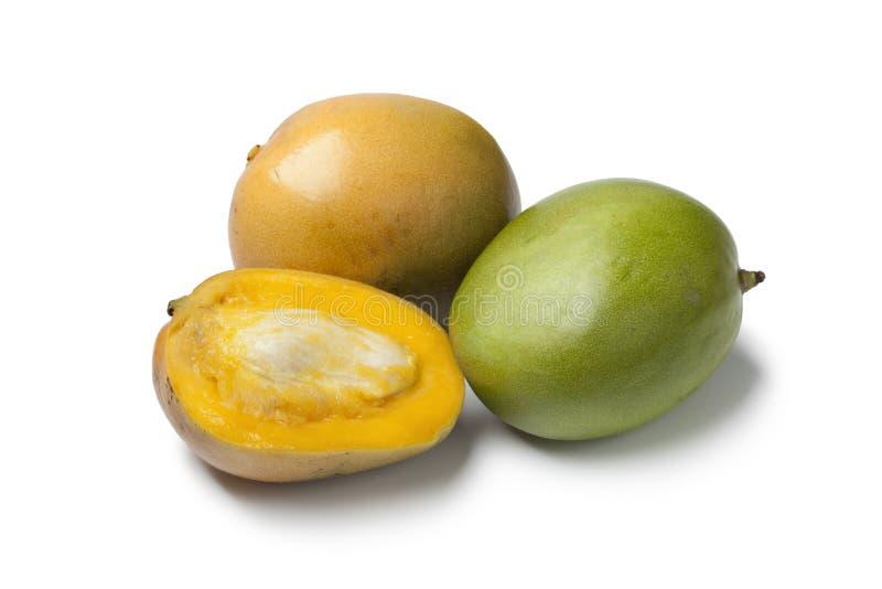 hel half mango arkivbild