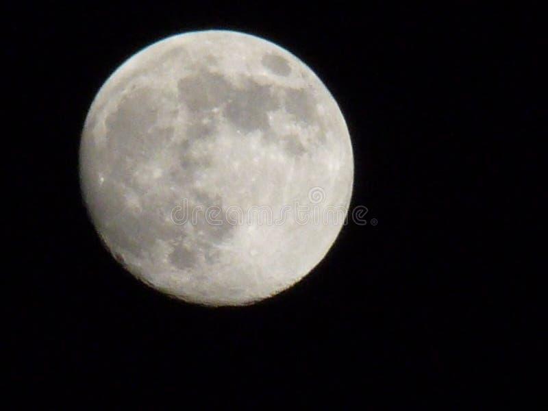 hel moon royaltyfri foto