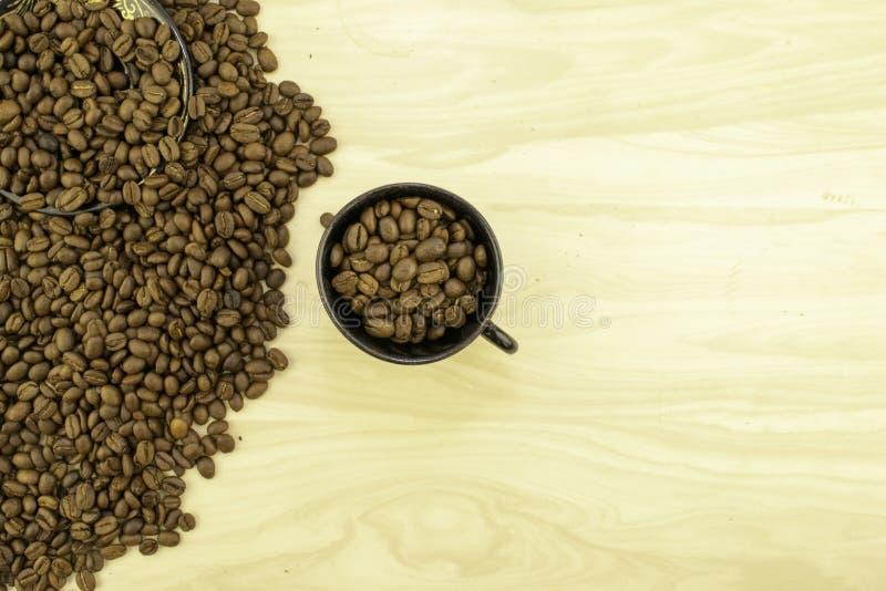 Hela Bean Coffee arkivfoto