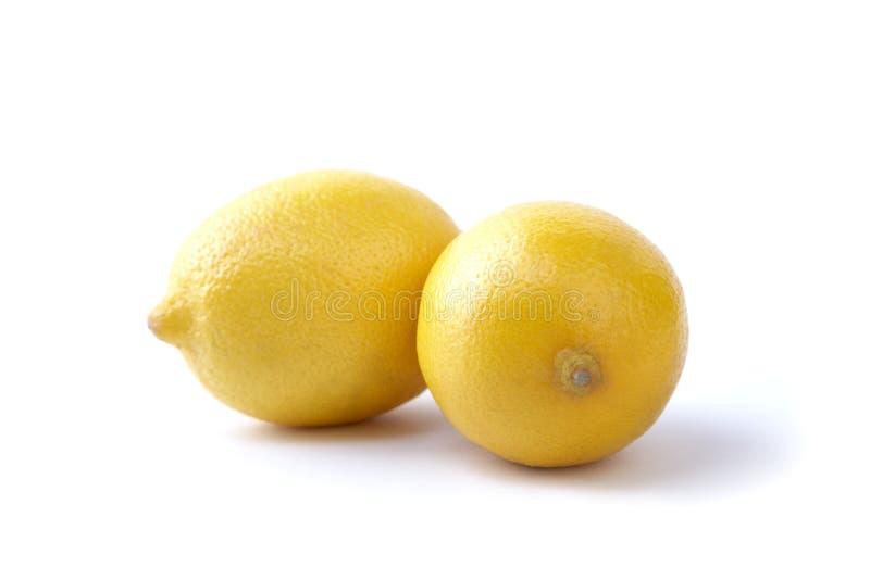 hela citroner två arkivbild