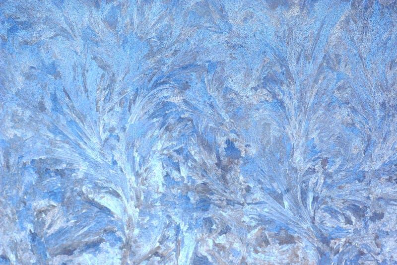 Helada azul foto de archivo libre de regalías