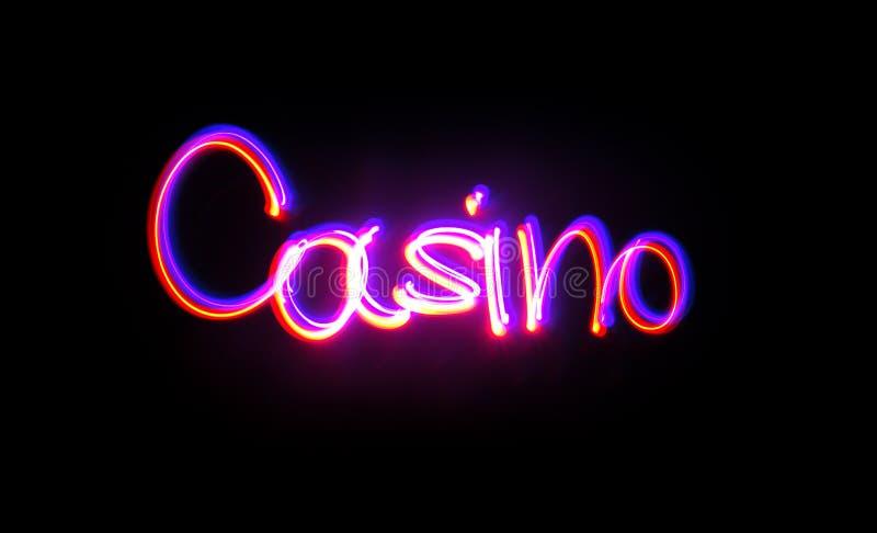 Helada del casino fotos de archivo