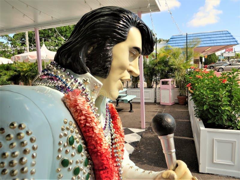 Helado Elvis imagen de archivo libre de regalías
