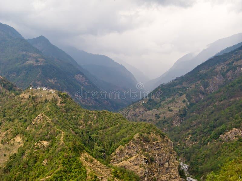 helambu Непал стоковая фотография