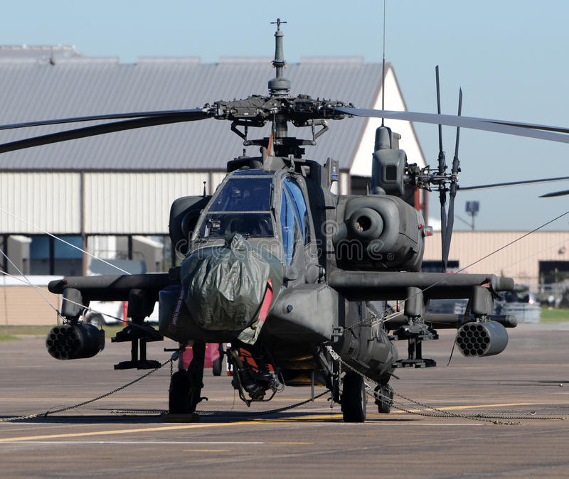 Helciopters militaires photo stock