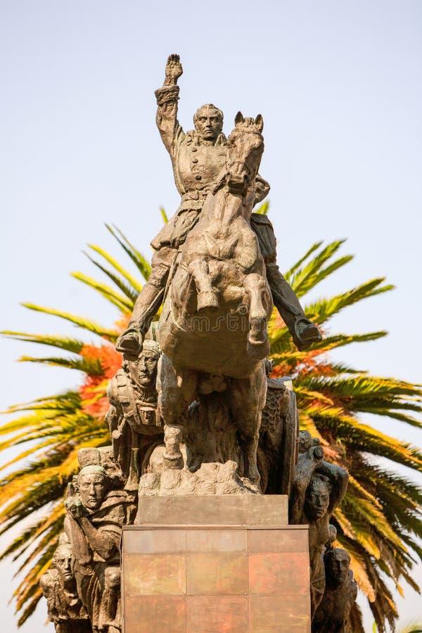 Held-Statue in Quito Ecuador lizenzfreies stockbild