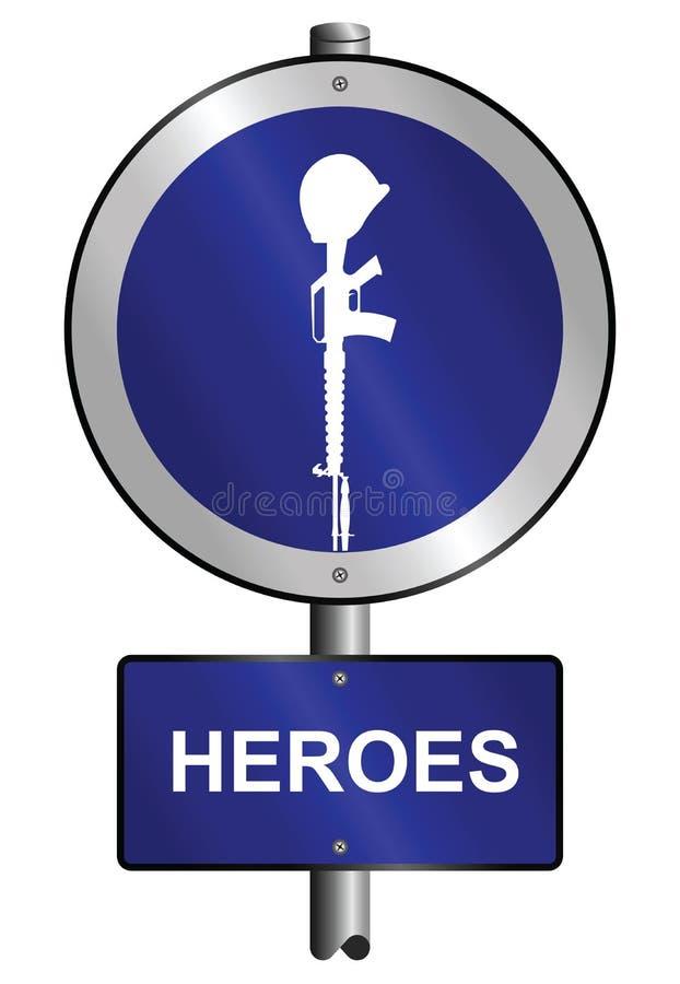 Helden stock illustratie