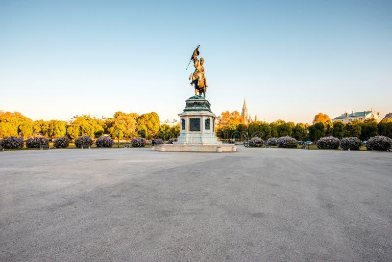 Helden kwadrat w Wiedeń obraz stock