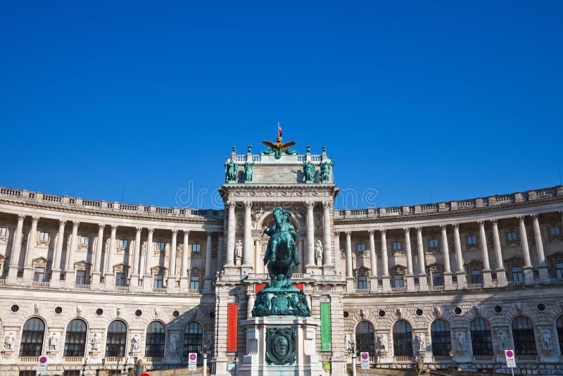 Heldenplatz foto de archivo libre de regalías