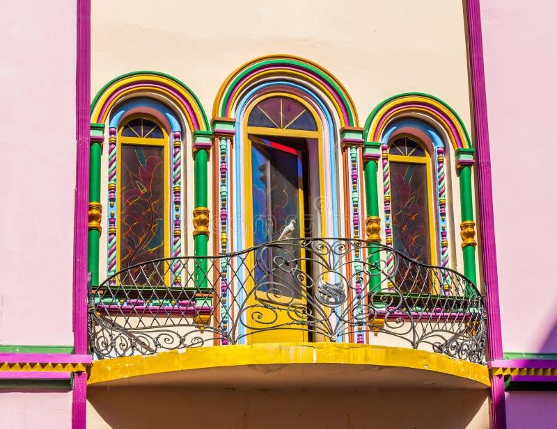 Helder Balkon royalty-vrije stock afbeeldingen