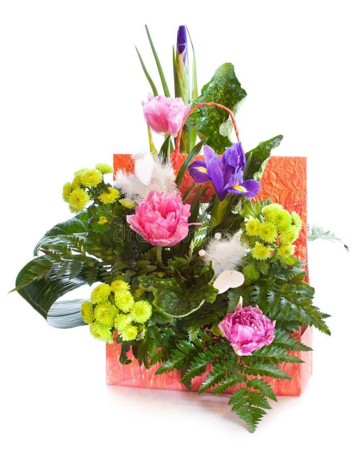 Helder bloemboeket stock afbeeldingen