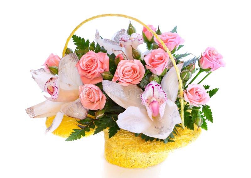 Helder bloemboeket royalty-vrije stock fotografie