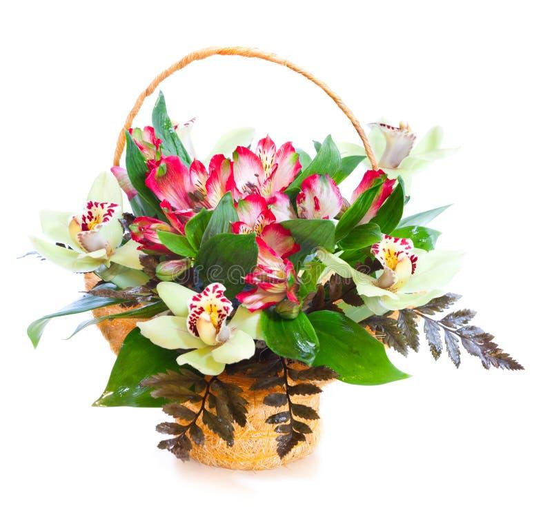 Helder bloemboeket stock foto