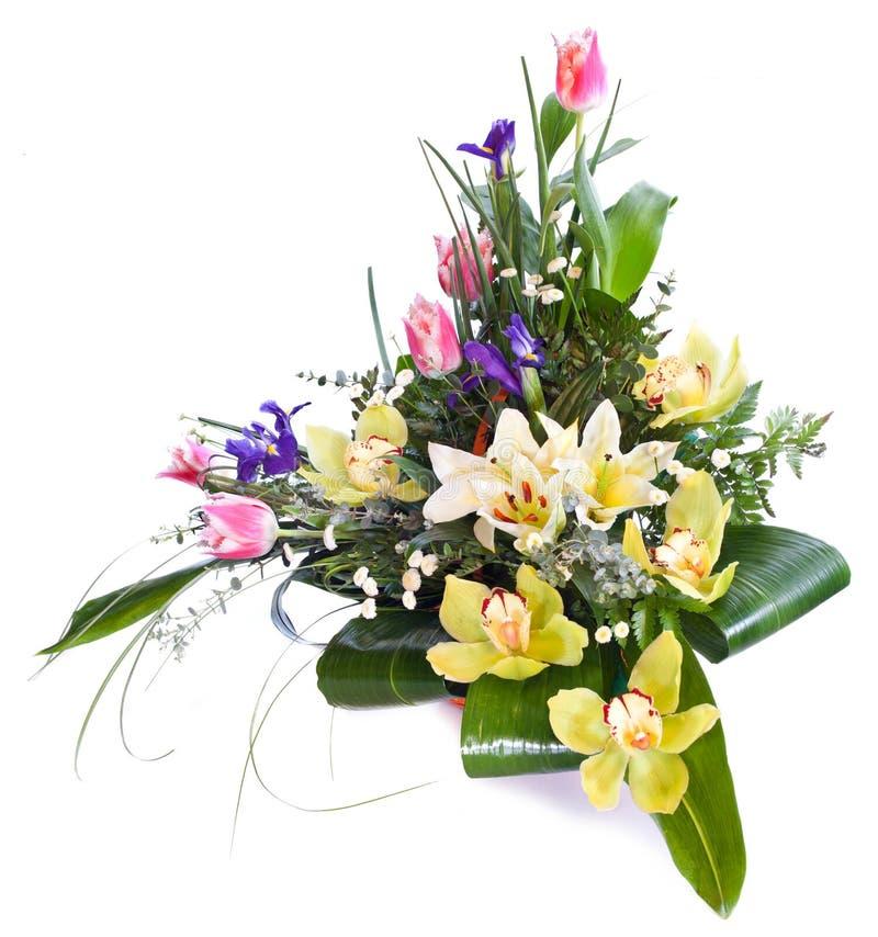Helder bloemboeket royalty-vrije stock foto