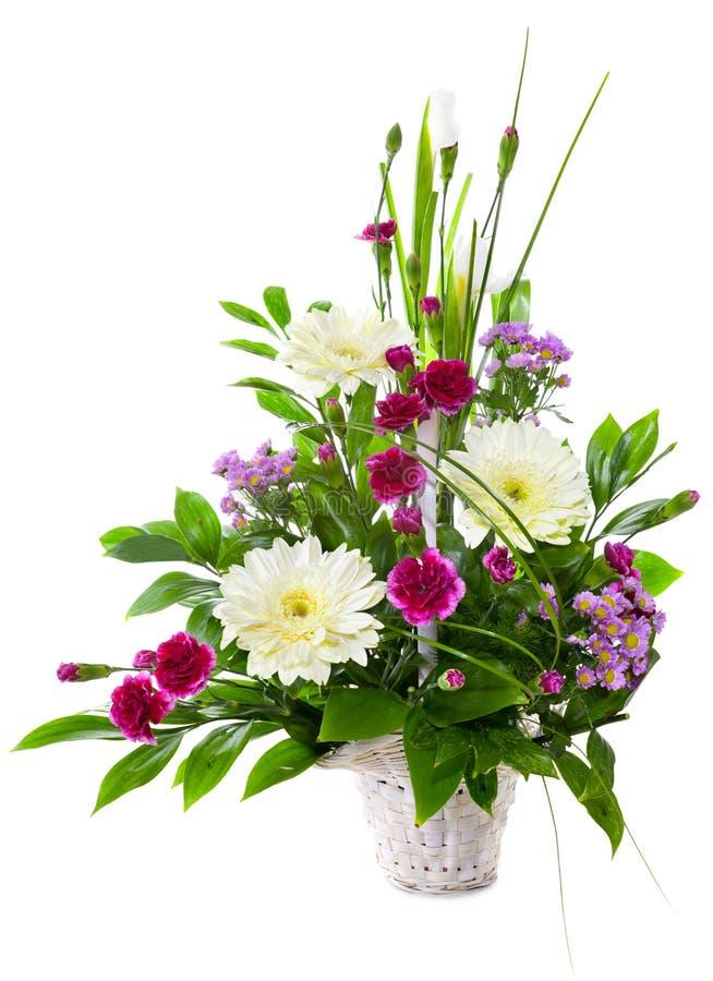 Helder bloemboeket royalty-vrije stock afbeeldingen