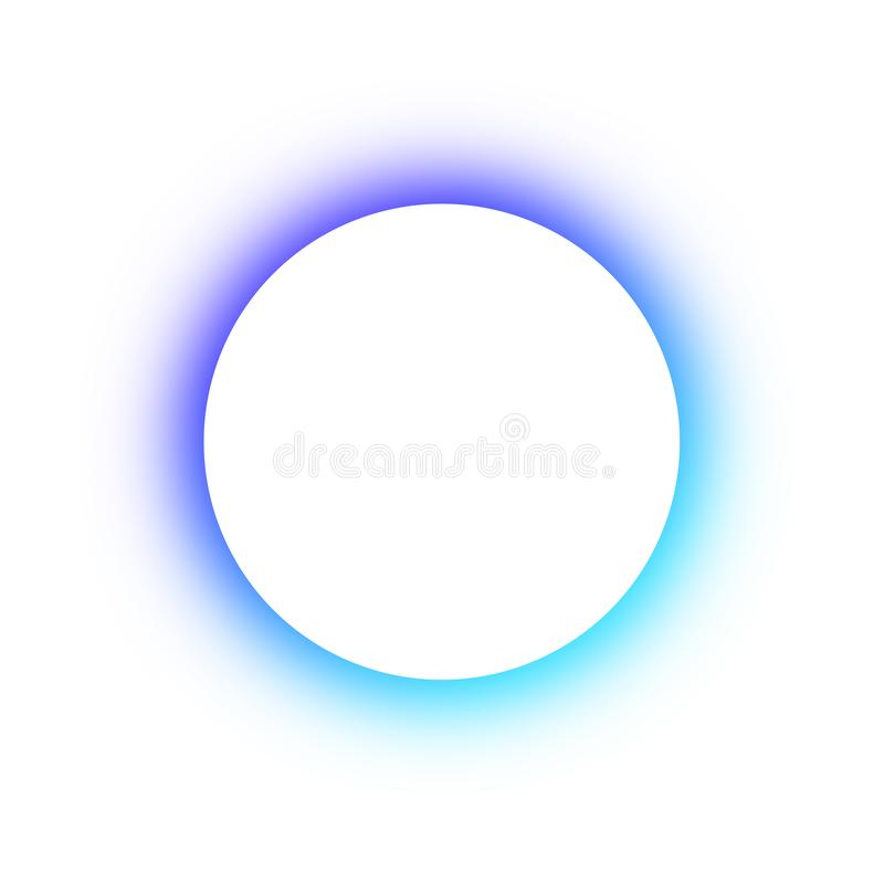 Helder gekleurd patroon om het gloeien verschillende kleuren van de neonknopen, de ruimte voor de tekst Malplaatjeontwerp voor re stock illustratie