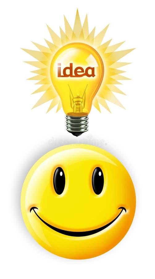 Helder Idee royalty-vrije illustratie