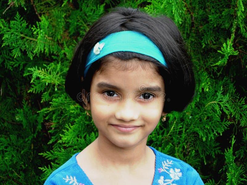 Helder Indisch Meisje royalty-vrije stock foto's