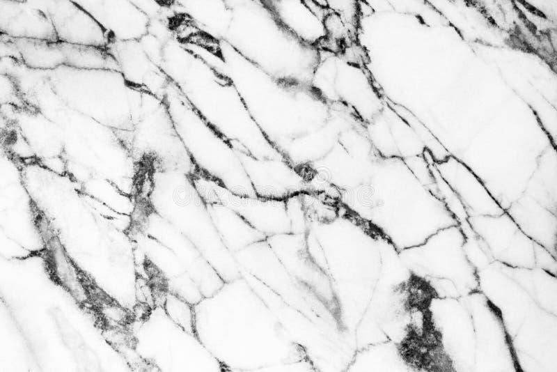 Helder natuurlijk marmeren textuurpatroon voor witte achtergrond huid royalty-vrije stock fotografie