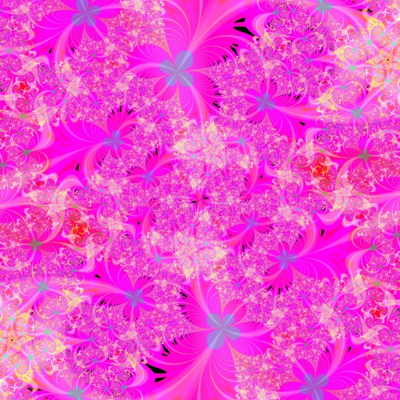 Helder Roze bloemen abstract achtergrondontwerpmalplaatje stock illustratie