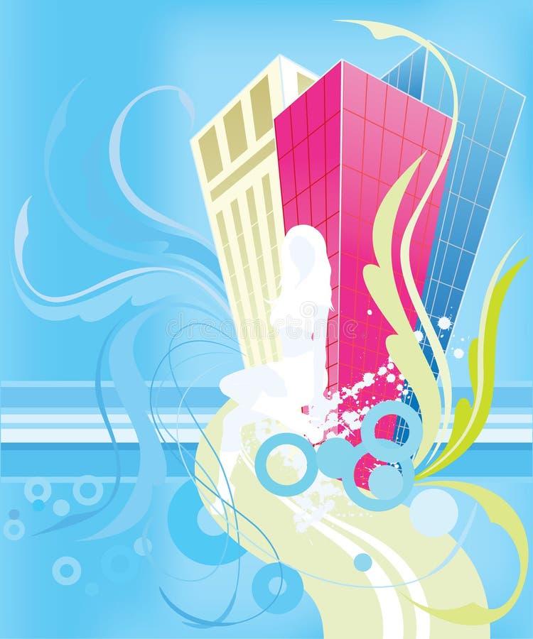 Download Helder silhouet vector illustratie. Illustratie bestaande uit painting - 10778923