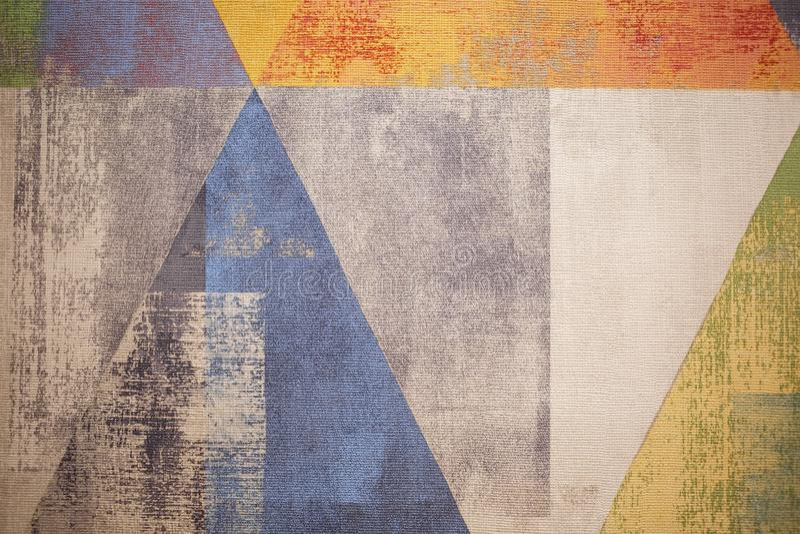 Heldere Abstracte Achtergrond Kleurrijke achtergrond voor uw Desktop stock illustratie