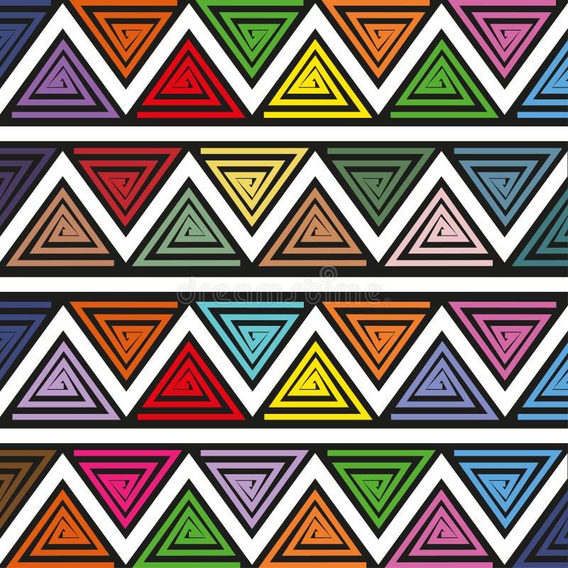 Heldere abstracte vectorachtergrond royalty-vrije illustratie