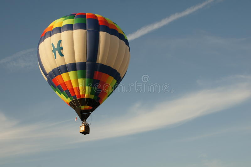 Heldere ballon stock foto