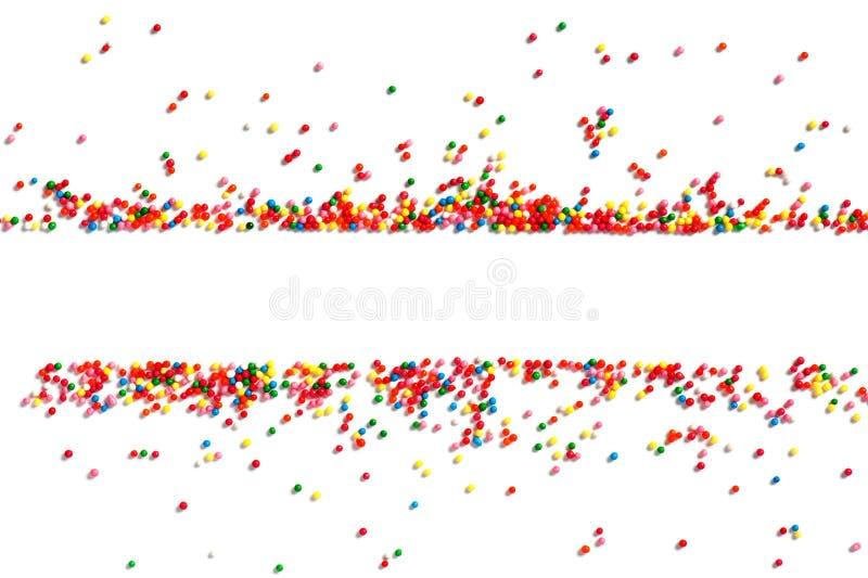 Heldere feestelijke achtergrond van veelkleurig suikergoed royalty-vrije stock foto's